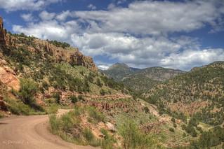 Phantom Canyon Road, Colorado