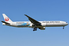 Hello JET-KEI (Ben Cavers) Tags: japanairlines boeing777346er boeing777300er boeing777 boeing 777346er 777300er 777 japanairlinesboeing777 japanairlines777 ja733j triple7 tripleseven londonheathrowairport londonheathrow heathrow heathrowairport lhr egll widebodyjet widebody passengerjet jet jetliner commercialairliner airliner commercialaviation aviation aircraft airplane plane