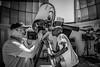 Observation du soleil, à la Cité de l'Espace, Toulouse (BO31555) Tags: 2018 blackwhite d850 nikon citéespace cassoulet d801 toulouse bernardondryn blackandwhite hautegaronne occitanie castelnaudary noiretblanc