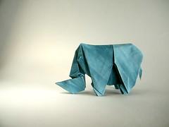 Rinoceronte - Daniel Bermejo Sánchez (Rui.Roda) Tags: origami papiroflexia papierfalten rhino rinoceronte daniel bermejo sánchez