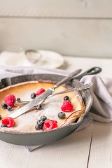 Dutch-baby-pancake-side (thetortillachannel) Tags: recipe video cooking pancake pancakes sweet dessert breakfast lunch tasty delicious yum yummy easy