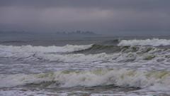 Fog always clings to the coast (Bud in Wells, Maine) Tags: drakesisland maine spring wells fog surf seascape seashore coast newengland hss