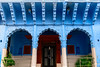 20180105-DSC_2077 (Mivr) Tags: india jodhpur blue arch entrance three symmetry