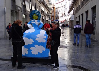 Las Meninas en Madrid.