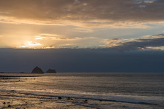 New Plymouth (Joyce Pinsker) Tags: newplymouth newzealand northisland tasmansea coastline shoreline sunset