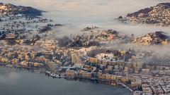 City (Flavio Matt) Tags: lugano lac nebbia inverno dicembre 2017 pentax k3 18135mm luganese monte brè