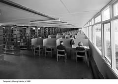 Temporary Library interior