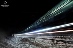 THE POLAR EXPRESS (savage_winner) Tags: brno bystrc winter tram trams snow šalina tramvaj lights longexplosure night czechrepublic europe christmas time tracks