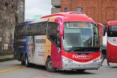 Bus Eireann SE11 (12D20002). (Fred Dean Jnr) Tags: buseireann cork march2018 scania irizar i6 alloverad buseireannroute51 se11 12d20002 parnellplacebusstation