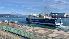 Shimizu Port (peaceful-jp-scenery (busy)) Tags: suruga ferry shimizu shizuoka japan 駿河湾 フェリー 清水港 静岡 日本 iphone8