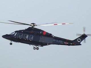 M-AJOR AgustaWestland 139 Helicopter Ineos/Hampshire Aviation Ltd