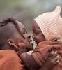 Kamanjab, Namibia - December 11, 2008. Otjikandero Himba Orphan Village (annick vanderschelden) Tags: himba namibia otjikandero kamanjab arid orphan tribal village jewelry hairstyles nature cattle children jacoburger kaokoland tradition
