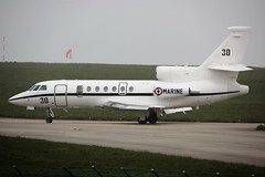 30 AMD Falcon 50MER on 12 April 2018 Jersey (Jersey Aviation Images 2018) Tags: airplane aircraft aeroplanes aeroplane aircraftspotters aviation planes flyingmachines