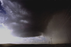 LP Storm near Ashland, KS (mesocyclone70) Tags: storm thunderstorm supercell lp lpsupercell rotation kansas greatplains highplains prairie stormchase stormscape stormstructure therebeastormabrewin sky