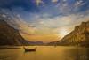 Lago di Lecco @Sunset (Christian Papagni | Photography) Tags: lecco lombardia italia it lake lago di sunset tramonto sky clouds sunrise rays light