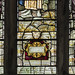 Epworth, St Andrew's church window detail