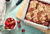 Strawberry Coffee Cake (Stefania Casali) Tags: food slice homemade gourmet nopeople dessert cake sweetfood baked snack plate freshness closeup foodanddrink studioshot red meal pastry meat fruit everypixel