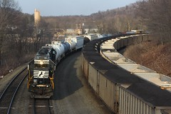 Push! (Eric_Freas) Tags: norfolk southern ns pittsburgh line west slope ehrenfeld pennsylvania 16n south fork