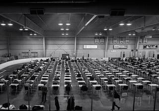 Exam Period ... ; (c)rebfoto