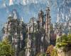 Imperial Writing Brush (Oleg S .) Tags: rock tree zhangjiajie mountains hunan nature china cliff wulingyuan