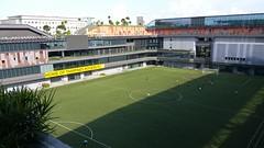 Our Tampines Hub Stadium, Singapore (SunnyGo) Tags: singapore our tampines hub ourtampineshub facilities building green tampinesroversfc soccer