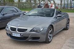 BMW M6 Convertible (CA Photography2012) Tags: k11nyg convertible bmw m6 e63 e64 6 series 6series 6er m sport gt luxury grand tourer v10 grey german supercar sportscar ca photography automotive exotic car spotting