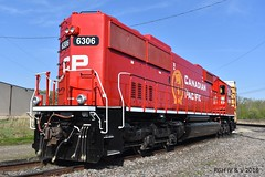 Fresh Beaver (R.G. Five) Tags: sd603 beaver cp canadian pacific railroad train savanna