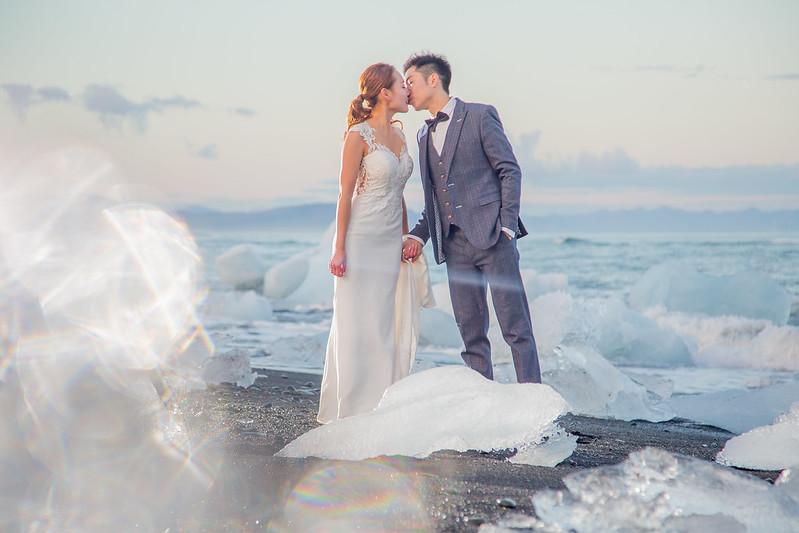 """""""冰島婚紗,冰島,蜜月婚紗,歐洲婚紗,海外婚紗,極光婚紗,冰河湖"""""""