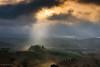 Tuscany (Olmux82) Tags: toscana tuscany sunrise dawn alba ray sun clouds weather farm nikon d750 hills landscape paesaggio spring