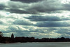 capitol w/clouds (kerwilliger) Tags: madison lake mendota wisconsin clouds urban capitol