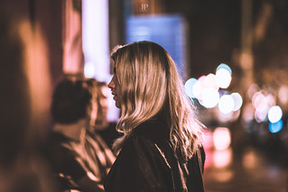 GIRL BY THE STREET