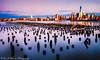 Newport Marina last bit of sunset (ericjmalave) Tags: fuji jetty manhattan newyork nyc pier sunset twilight weehwaken
