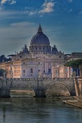 Cupolone (maresaDOs) Tags: roma cupolone lazio italia it vaticano italy rome tevere ponte fiume monumento simbolo aprile 2018 nikon nikond3300 panorama