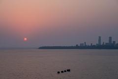 Mumbai Sunset (Robert Borden) Tags: 50mm fuji fujifilm fujixt2 fujifilmxt2 mumbai india