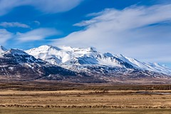 Mt. Kerling (Einar Schioth) Tags: mountains mountain mtkerling winter day sky snow sunshine sun grass grassland canon clouds cloud vividstriking nationalgeographic ngc nature landscape photo picture outdoor iceland ísland ice einarschioth