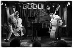 El Negrón & Javier Colina. (carlosarenal) Tags: jazz bass contrabajo music música night club latin cuba spain madrid españa piano