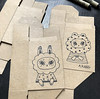 Box bunnies + bears 📦 (Andrea Kang) Tags: ifttt instagram packaging cute drawing sketch boxes box puff bunny rabbit bear cloud andreakang ink micron