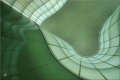 round # 4 (Bernergieu) Tags: milano italia italy architektur glas grün architecture green glass lookingup mudec mailand art kunst mint inexplore