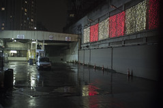 . (Le Cercle Rouge) Tags: paris france olympiades chinatown china town darkness light dark rain reflections pluie parking