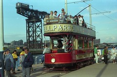 Paisley 68 at the Glasgow Garden Festival (preselected) Tags: tram glsgow garden festival 1988 paisley tramways 68
