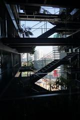 2018-04-FL-183906 (acme london) Tags: barcelona bridges corridor fira hotel jeannouvel landscape renaissancehotelfira spain stairs
