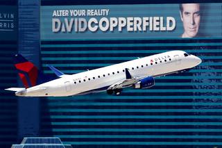 Delta Connection (SkyWest Airlines) | Embraer 175 | N261SY | Las Vegas McCarran