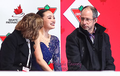 Aislinn Ganci (Melanie Heaney) Tags: action aislinnganci canadians coaching figureskating kissandcry ladies sports