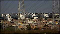 Greenstone Townhouses (Finepixtrix) Tags: development johannesburg edenvale greenstone townhouses powerlines color colour flats apartments pylons sony rx10 bridgecamera ekhuruleni