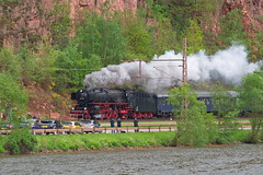 Dampfspektakel in Trier 2018 -BR01 im Saartal bei Taben-Rodt (Schremserfrank) Tags: tabenrodt saar dampfspektakel dampflok railroad br 01202 steam train locomotive de event historic historisch