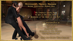Mysterium's 2 Anniversary Masked Concert and Ball! (Uri Jefferson) Tags: mysteriumsmaskedmansion mysterium masked mansion mask masquerade party ball celebration anniversary sl secondlife urijefferson