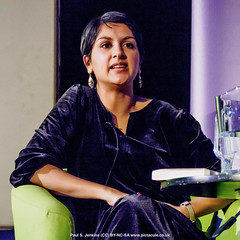 P3071292 Angela Saini - Humanists UK 2018 Franklin Lecture at the Camden Centre, London (Paul S Jenkins Photography) Tags: iwd2018 angelasaini camdencentre franklinlecture humanistsuk internationalwomensday samiraahmedfranklinlecture london england unitedkingdom gb