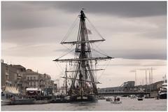 (harry ray) Tags: navire mer boat hermione voiles océan marine fregate lafayette sailing ship escaleasete2018 eas2018