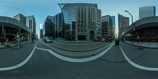 Morning on Adelaide Street, Toronto