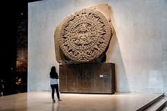 Museo Nacional de Antropología - Piedra del Sol (grzegorzmielczarek) Tags: azteccalendarstone cdmx ciudaddemexico mexico mexicocity museonazionaldeantropologia piedradelsol steindersonne